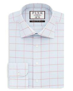 Thomas Pink Woods Check Dress Shirt - Bloomingdale's Regular Fit