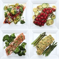 One-Pan Salmon 4 Ways