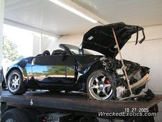Nissan Z-Series 350Z crashed in County, Florida