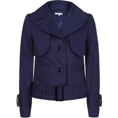 Carven Trench Jacket found on Polyvore