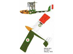 This aircraft paper model is a Macchi M.5, an Italian single-seat fighter flying boat designed and built by Nieuport-Macchi, the paper model is created by