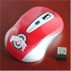 Ohio State Buckeyes Wireless Mouse- Computer Mouse $49.95
