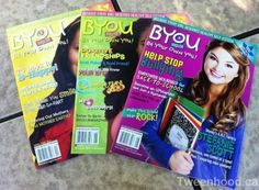 Be Your Own You! BYOU Magazine Review & Giveaway - Tweenhood #win #giveaway #tweens