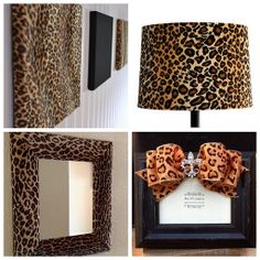 Must Have Fab: Animal Print Decor Gifts For Teens Animal Print Rooms, Animal Print Furniture, Animal Print Decor, Animal Prints, Safari Home Decor, Safari Decorations, Diy Home Decor, Leopard Bedroom, Cheetah Room Decor