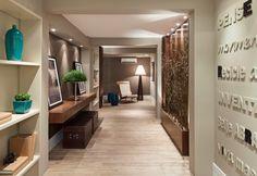 Decor Salteado - Blog de Decoração e Arquitetura : Hall de Entrada – veja 40 entradas triunfais e dicas de como decorar!