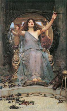 Circe offre la coppa ad Ulisse | Mythologiae