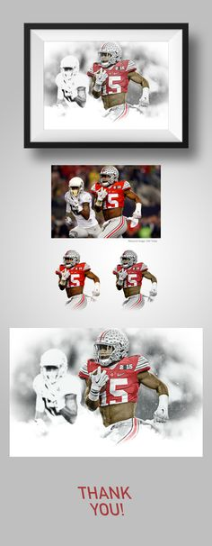 Ezekiel Elliot Poster on Behance