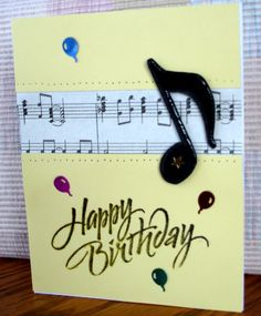 So Noted! by bubblestx4 - Cards and Paper Crafts at Splitcoaststampers