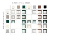 Georgian Federal Home Style Window Color Combinations