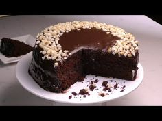 Queque de chocolate de mis nietos - YouTube