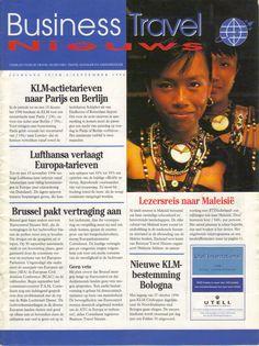 Vakblad Busjness Travel News.  Bijdragen: journalistieke producties over de reiswereld. Researcher onderzoeken binnen de reiswereld.