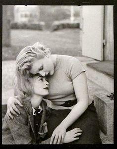 Nusch Éluard and Sonia Mossé. Paris. 1935 Photographer: Man Ray