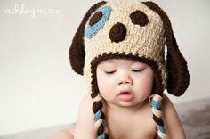 Free Crochet Baby Hat Patterns | Crochet Dog Hat Pattern
