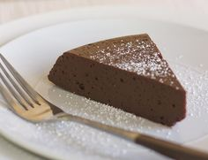 Decadent Chocolate Cake / @DJ Foodie / DJFoodie.com