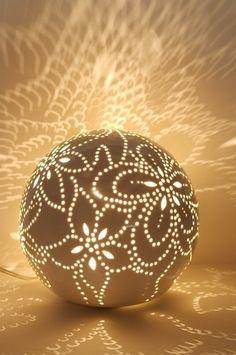 Perforated Moonstruck Light » Curbly | DIY Design Community