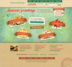 Season's Feastings! Love the colors!