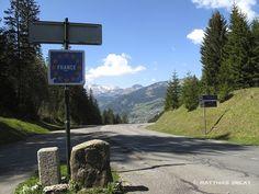 Die Grenze Schweiz / Frankreich