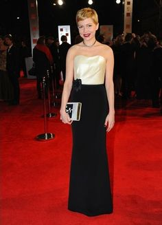 Michelle Williams en los BAFTA 2012