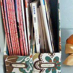 New comic book storage ideas diy magazine holders ideas New Jersey, Cardboard Organizer, Cardboard Boxes, Cardboard Crafts, Diy Magazine Holder, Magazine Racks, Comic Book Storage, Ikea Organization, Organizing Tips