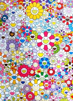 View An Homage to Yves Klein Multicolor by Takashi Murakami on the KUMI…