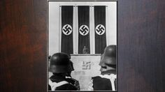 3rd Reich LDR Hitler ON THE PODIUM NUMERBURG