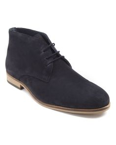 Desert boot suède James Bleu marine MENLOOK LABEL