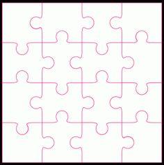 16 piece Jigsaw by Bird