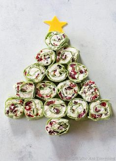 These easy Christmas lunch ideas will tide you and your guests over until the big Christmas dinner, but still incorporate plenty of holiday flavors. Check out our Christmas lunch recipes here, like salads and sandwiches. Best Holiday Appetizers, Bite Size Appetizers, Appetizers For Party, Holiday Fun, Holiday Recipes, Fruit Appetizers, Appetizer Recipes, Cheese Appetizers, Easiest Appetizers