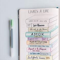 @chloezygomatics on Instagram Books to read Bullet journal