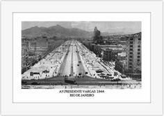 Imagem de Quadro Rio Antigo Av Presidente Vargas