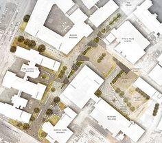 Landscape architecture sketch design ideas for garden backyard. Newcastle University Kings Road #landscapearchitecturebackyard