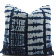 This pillow cover is made to order and will be sewn from vintage handwoven cotton African Mudcloth, which contains strips of sewn together mudcloth