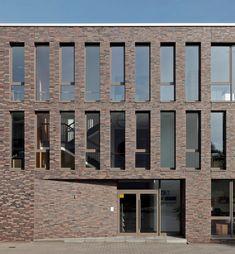 Bürogebäude Dortmund|Referenzen|Fassaden-Projekte|Klinkerwerk Hagemeister