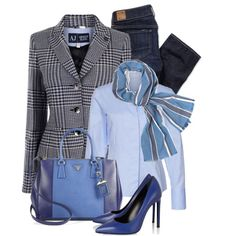 """hounds tooth"" by sagramora on Polyvore"