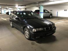 BMW E36 Touring M Paket 318i Cosmosschwarz Für Bastler Mit TÜV