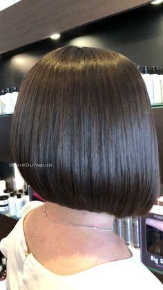 Messy Blonde Balayage Bob - 55 Different Versions of Curly Bob Hairstyle - The Trending Hairstyle Bob Haircut Back View, Bob Haircut For Fine Hair, Short Hairstyles For Thick Hair, Curly Bob Hairstyles, Short Hair Cuts, Curly Hair Styles, Haircut Bob, Choppy Bob Haircuts, Stacked Haircuts
