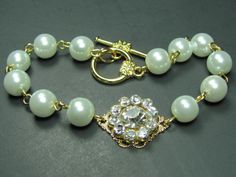 Bridal Jewelry Bridesmaids Bracelet Bridal by AdornmentsbyDebbie, $24.00