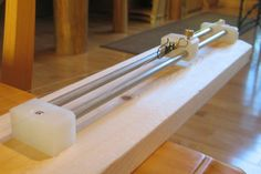 For more than 10 years, I have made and fished furled leaders, using the method of Claude Freaner. I have now made a fixture/machine to assist in the process. The machine is hand cranked, so I no l…