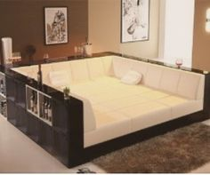 Couch and bed