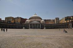 Naples Piazza del Plebiscito, Italy