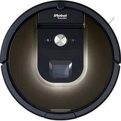 iRobot - Roomba 980 Robot Vacuum - Gray - Front Zoom