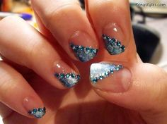 Amazing Glitter Nail Ideas for Girls 2017 - Reny styles