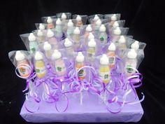 Cake pops in shape of juice bottles for you-mist-it store. New Vape store.