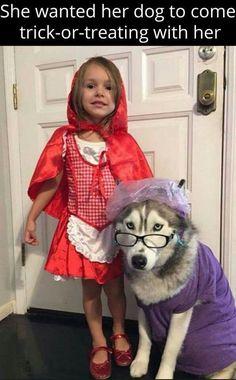 Girl + doggy