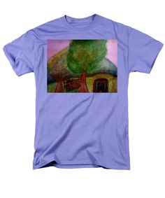 Colorful T-Shirt featuring the painting Tree2 by Stephanie Zelaya