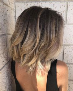 Popular Short Haircuts 2018 – 2019 – The UnderCut – Balayage Haare Ombre Hair Color, Hair Color Balayage, Cool Hair Color, Medium Balayage Hair, Lob Ombre, Long Bob Ombre, Popular Short Haircuts, New Short Hairstyles, Pixie Haircuts