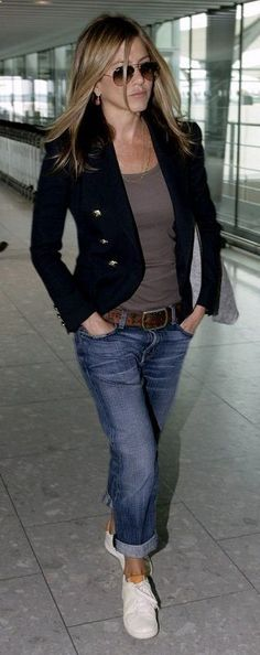 Casual Outfits For Women Over 40 With Blazer