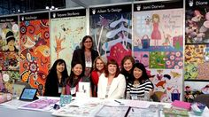 Aileen Tu with the Cultivate Art Collective - #surtex recap