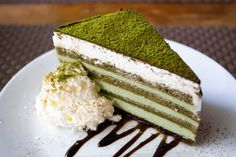 Matcha Cake: Tiramisu Edition
