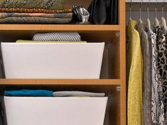 Make Your Closet Look Like a Chic Boutique | Bedrooms & Bedroom Decorating Ideas | HGTV